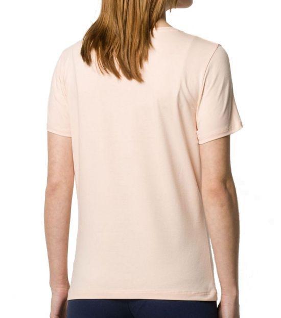 Emporio Armani Pale Peach Classic Logo T-Shirt