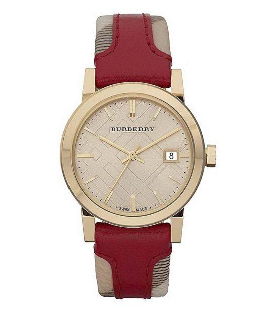 Burberry Red Nova Check Watch