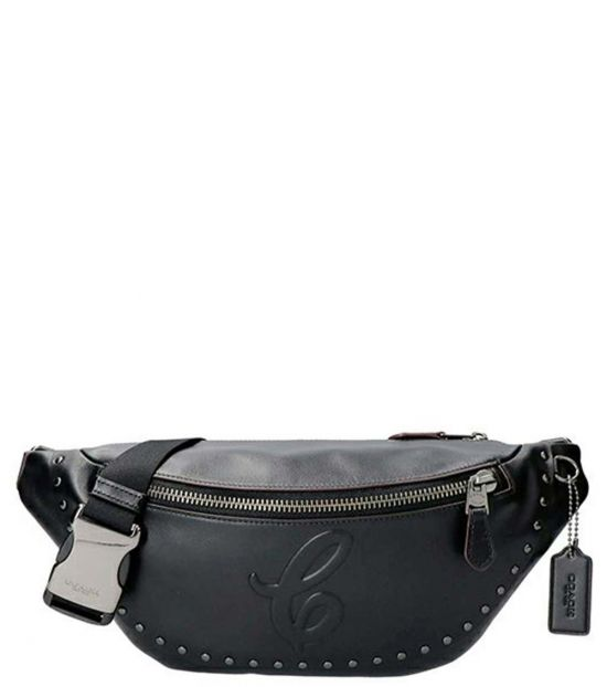 Coach Black Crescent Fanny Waist Bag