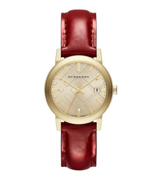 Burberry Red-Gold The city Watch