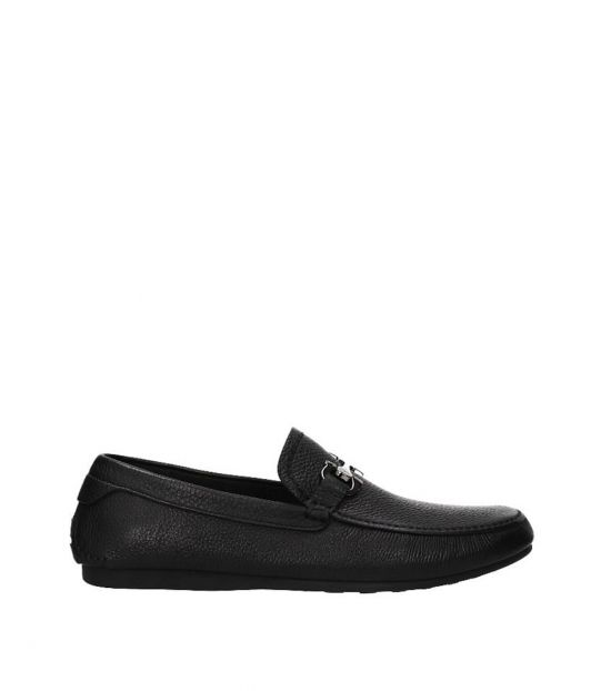 Salvatore Ferragamo Black Cancun Loafers