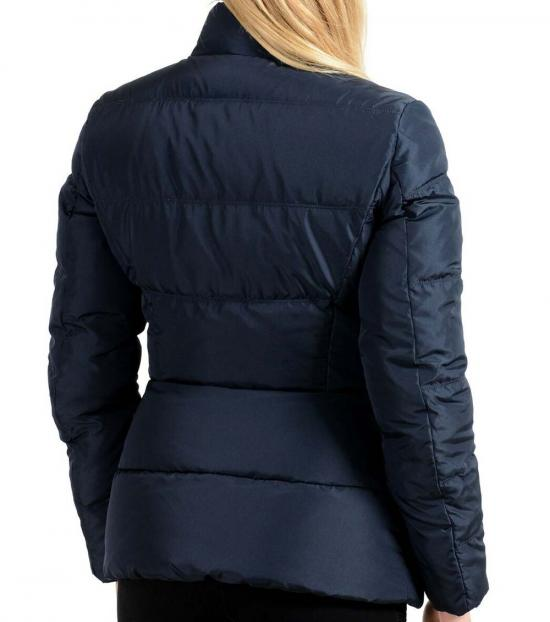 Versace Collection Navy Blue Parka Jacket