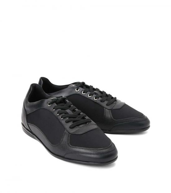 Versace Collection Black Classic Sneakers