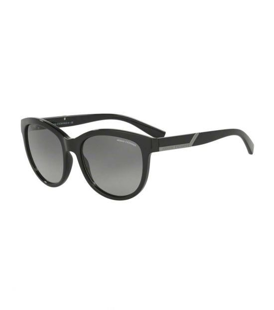 Armani Exchange Black-Grey Gradient Sunglasses