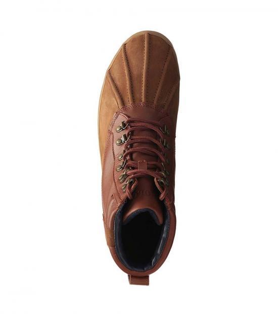 Ralph Lauren Saddle Regnald Duck Toe Boots