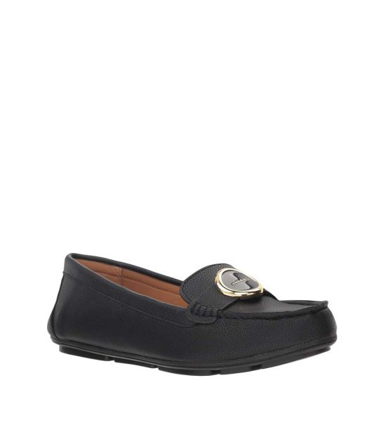 Calvin Klein Black Leana Loafers