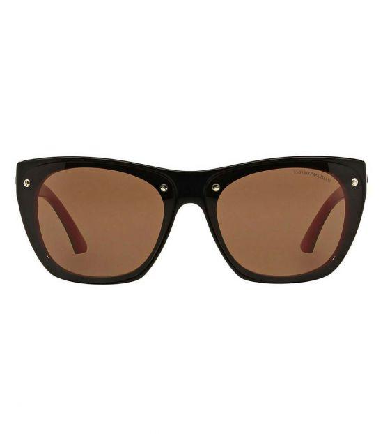 Emporio Armani Black-Red Modish Sunglasses