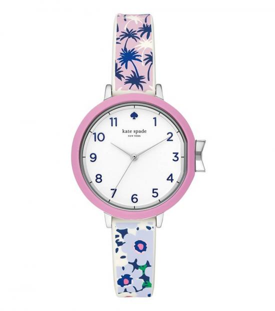 Kate Spade Multi Color Park Row Time Piece