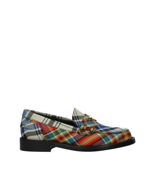 Burberry Multicolor Penny Loafers