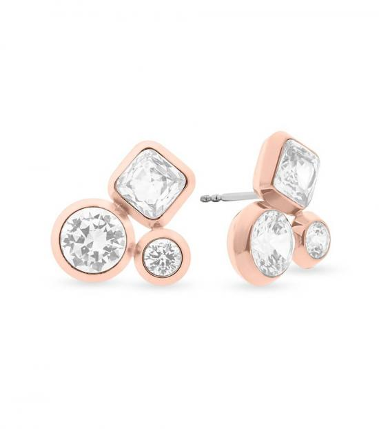 Michael Kors Rose Gold Opulence Earrings