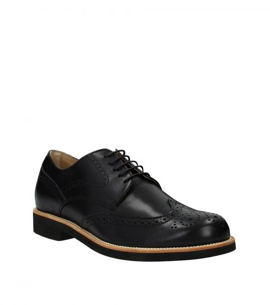 Tod's Black Wingtip Lace Ups