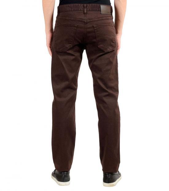 Hugo Boss Brown Stretch Regular Jeans