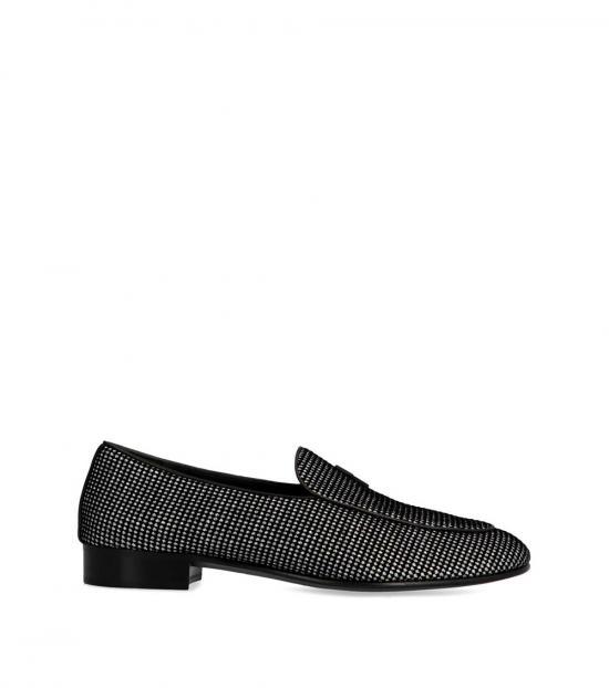 Giuseppe Zanotti Multicolor Cut Glitter Loafers