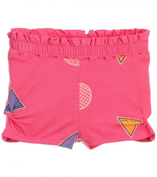 Little Marc Jacobs Baby Girls Pink Graphic Shorts