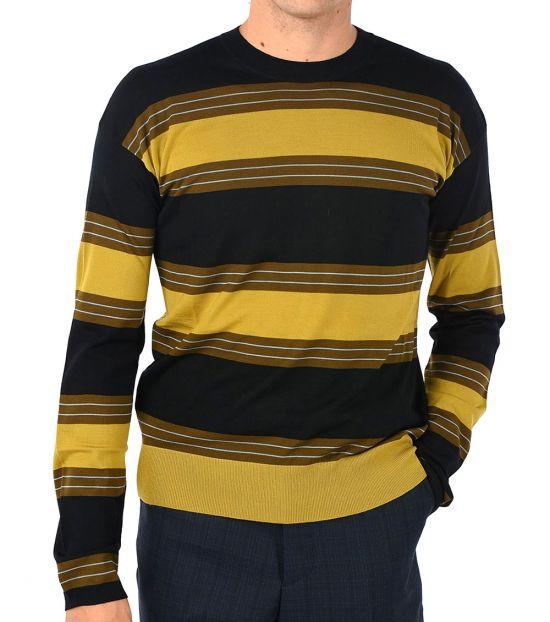 Marni Multicolor Striped Sweater