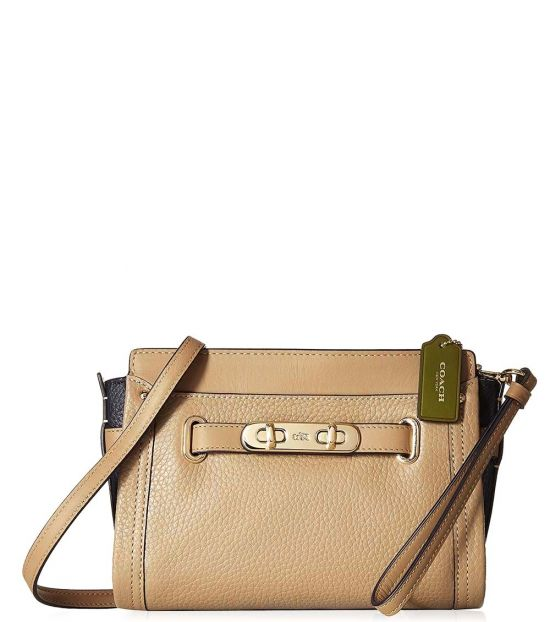 Coach Natural Swagger Small Crossbody