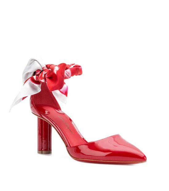 Salvatore Ferragamo Red Sorano Heels