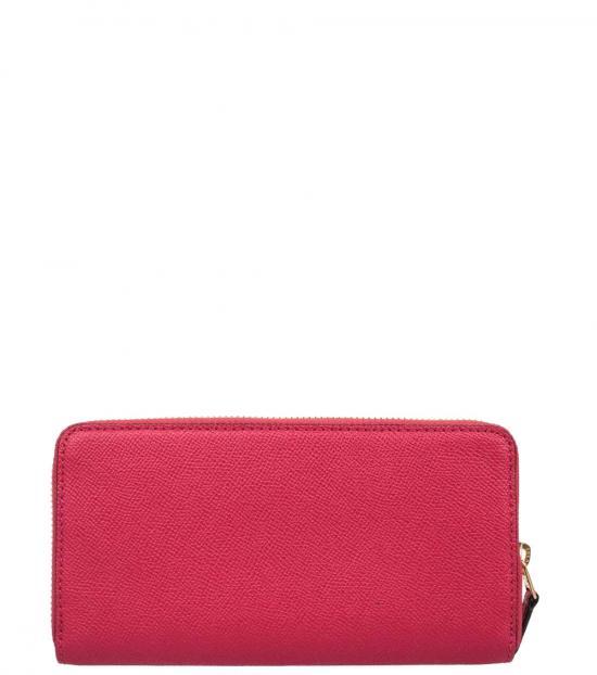 Coach Pink Accordion Wallet
