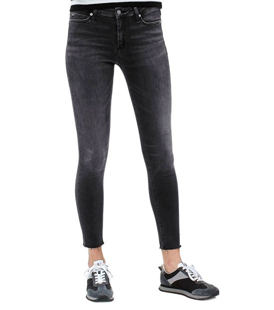 Calvin Klein Black Super Skinny Denim Jeans
