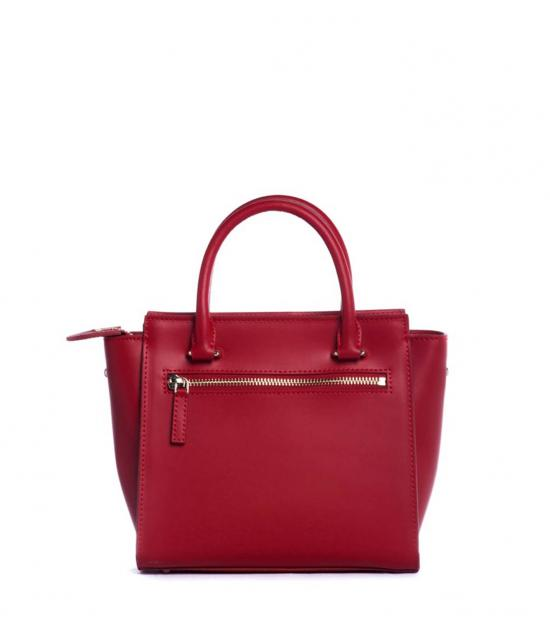 Lancaster Paris Red Camelia Mini Satchel
