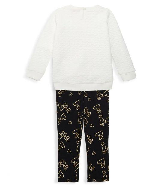 Juicy Couture 2 Piece Top/Leggings Set (Little Girls)