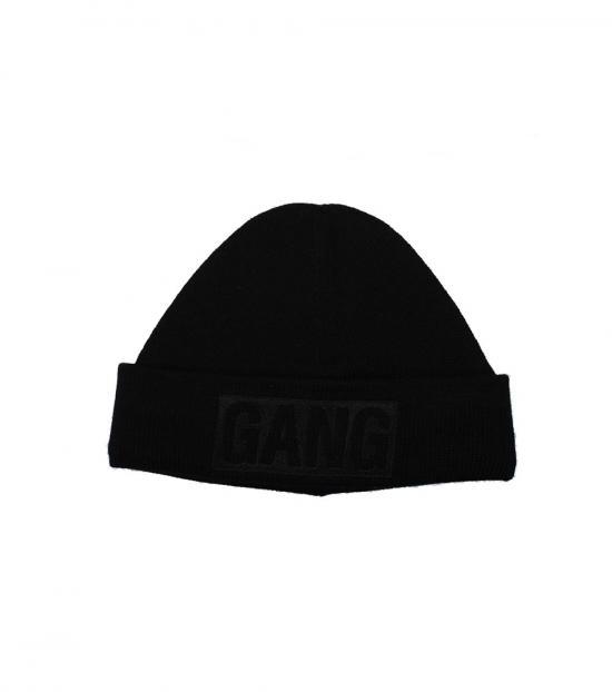 Neil Barrett Black Gang Embellished Beanie