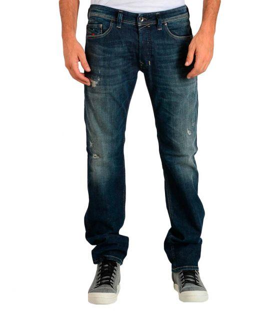 Diesel Dark Blue Stretch Safado Jeans