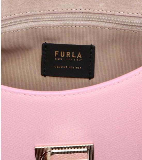 Furla Pink 1927 Medium Shoulder Bag