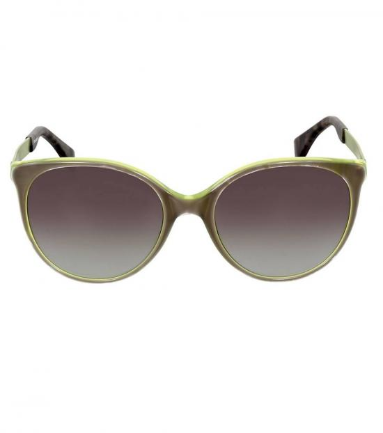 Fendi Green Grey Shaded Sunglasses