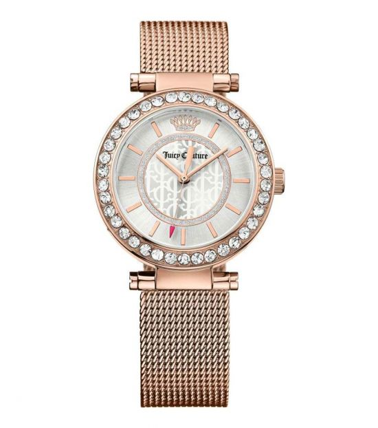 Juicy Couture Rose Gold Cali Crystal Watch