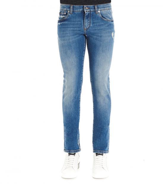 Dolce & Gabbana Blue Essential Jeans