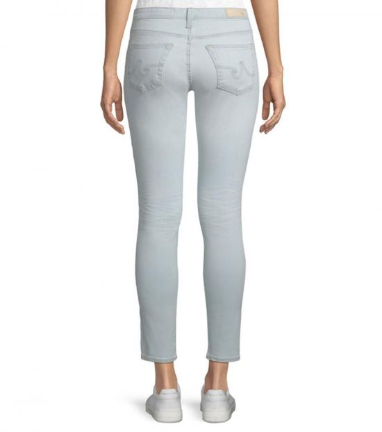 AG Adriano Goldschmied Light Blue Legging Ankle Jeans