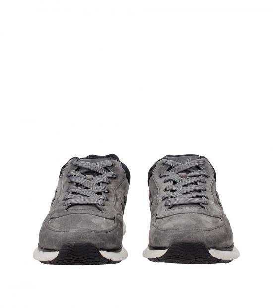 Hogan Grey Classic Low Sneakers
