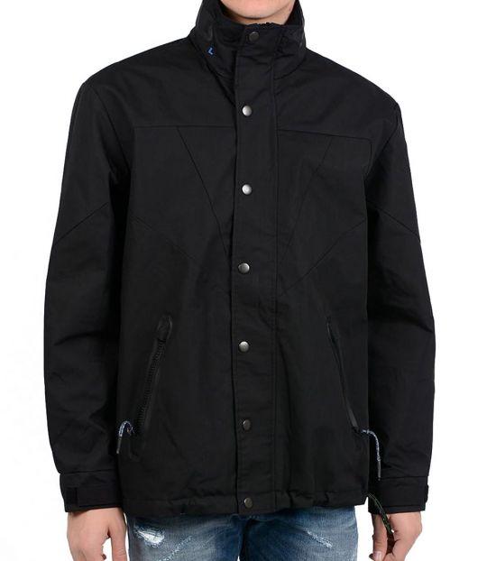 Diesel Black Cotton Blend J-Valley Jacket