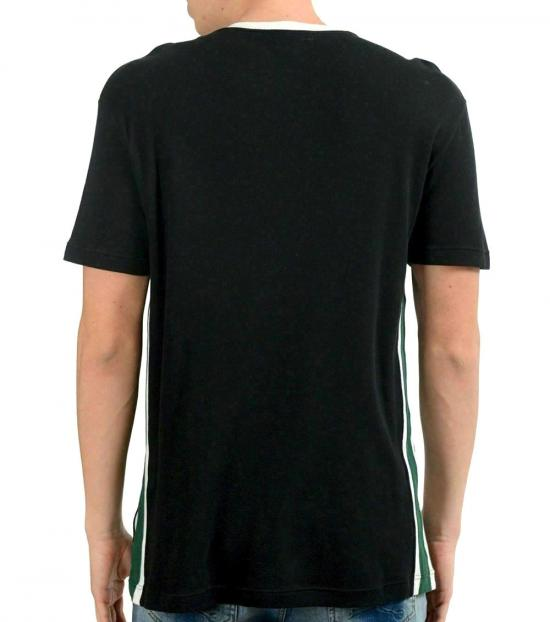 Emporio Armani Black Crewneck Logo T-Shirt