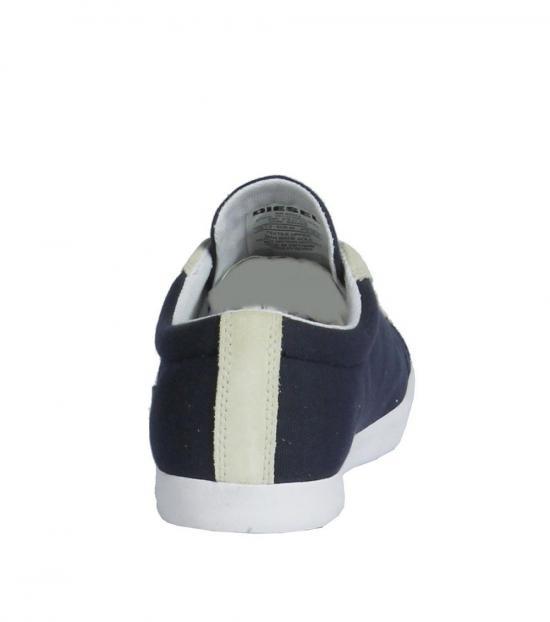 Diesel Indigo Bikkren Fabric Sneakers