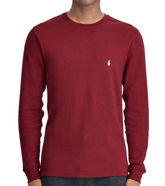 Ralph Lauren Classic Thermal Long Sleeve Pullover