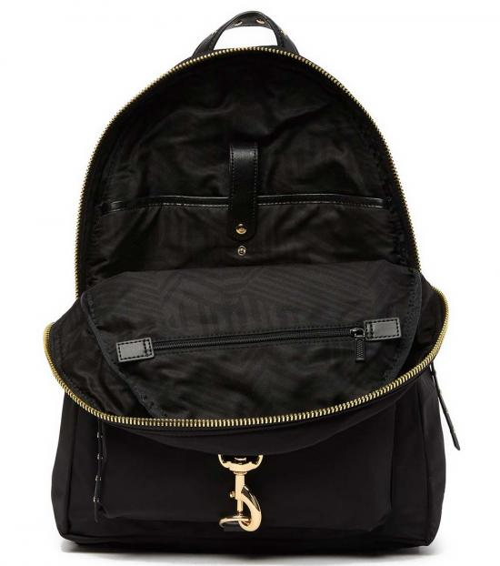 Rebecca Minkoff Black Always On MAB Large Backpack