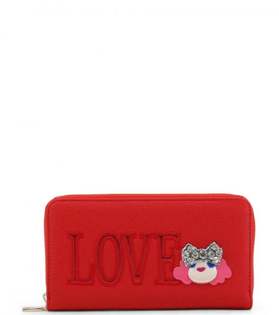 Love Moschino Red Love Doll Wallet