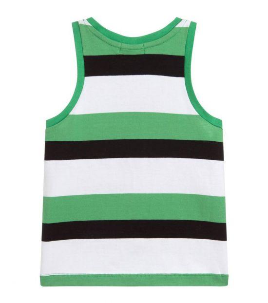 Stella McCartney Girls Green Palm Tree Top