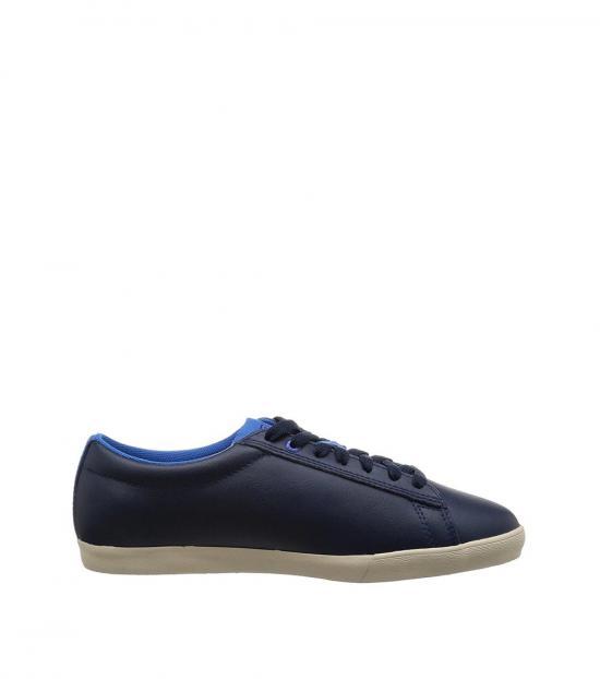 Diesel Blue Bikkren Leather Sneakers