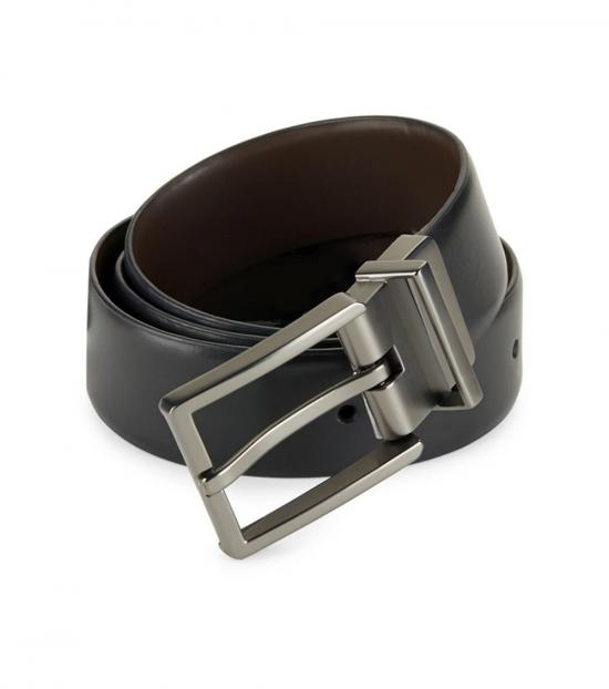 Calvin Klein Black Brown Reversible Belt