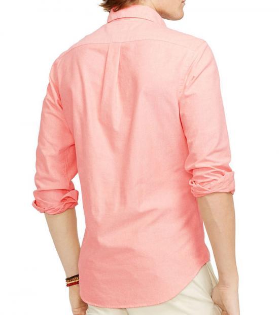 Ralph Lauren Pink Classic Fit Oxford Shirt