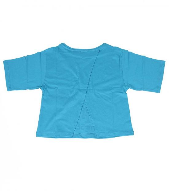 Diesel Girls Blue Graphic T-Shirt