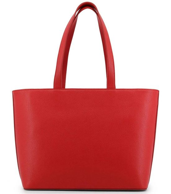 Love Moschino Red Studded Large Tote