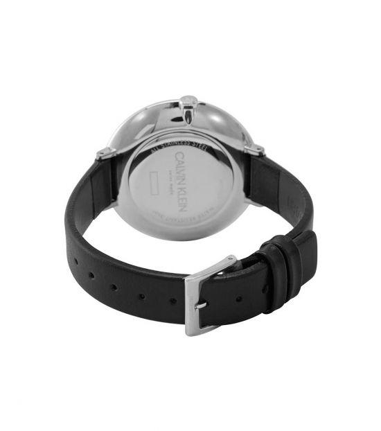 Calvin Klein Black-White Rise Watch