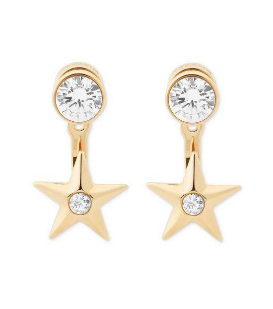 Michael Kors Gold Celestial Earrings