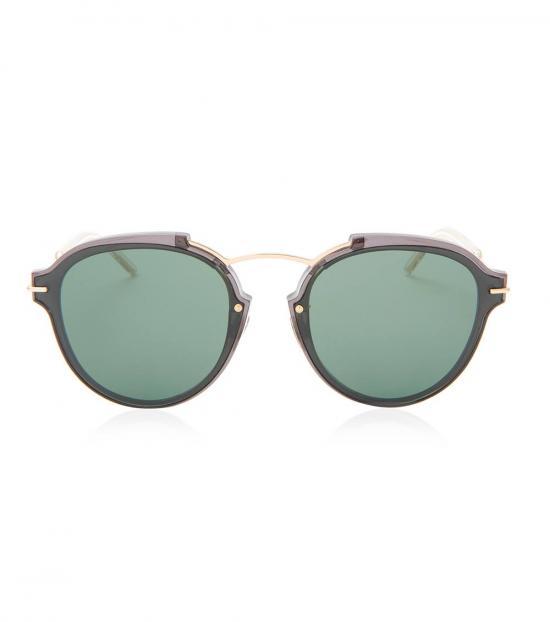 Christian Dior Black Full Rim Sunglasses