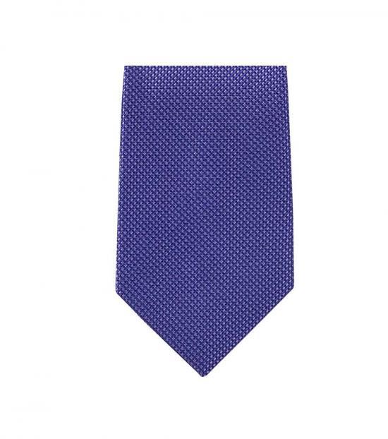 Michael Kors Blue Classic Slim Silk Tie