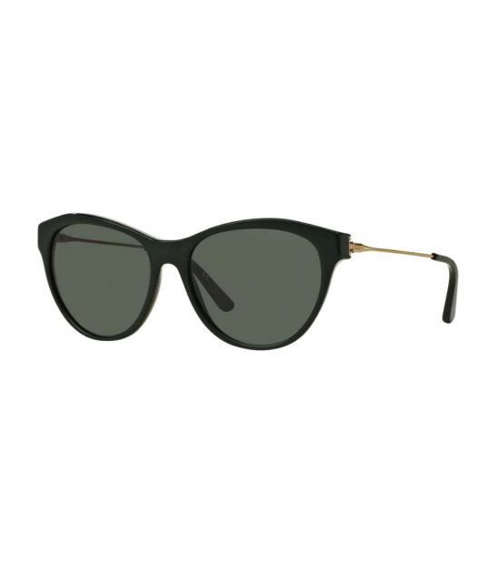 Tory Burch Racing Green-Gold Cat Eye Sunglasses